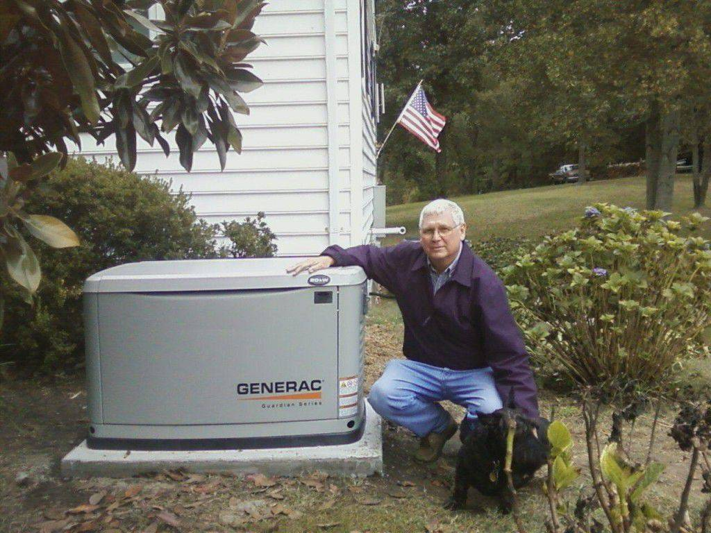 Customer with Generator