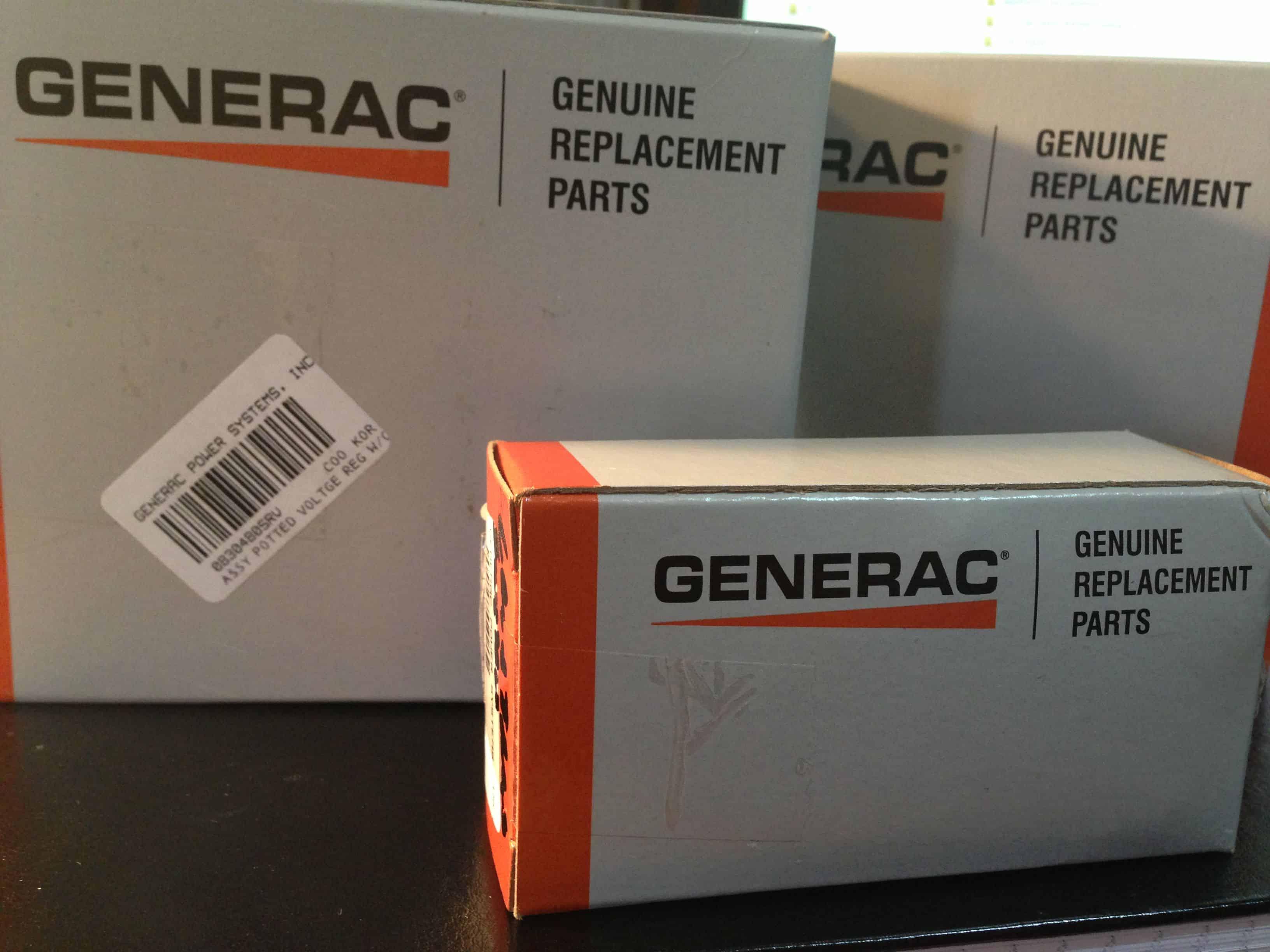 Genuine Generac Replacement Parts