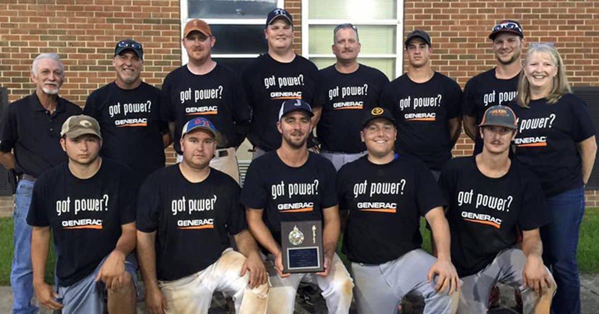 Hale's Baseball Team