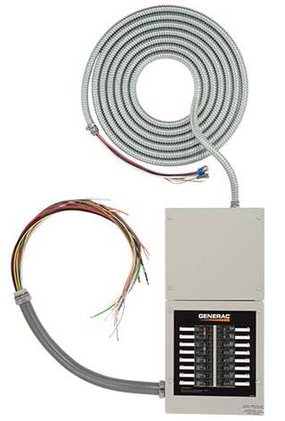 Generac 16 Circuit Pre-Wired Transfer Switch