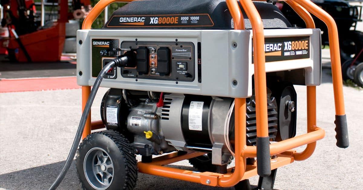 Generac XG 10,000 Watt Portable Generator - Hale's