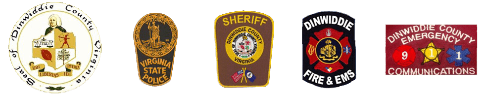 Dinwiddie County EMS Logos