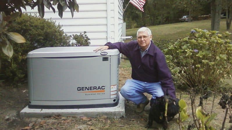 Customer with Generator