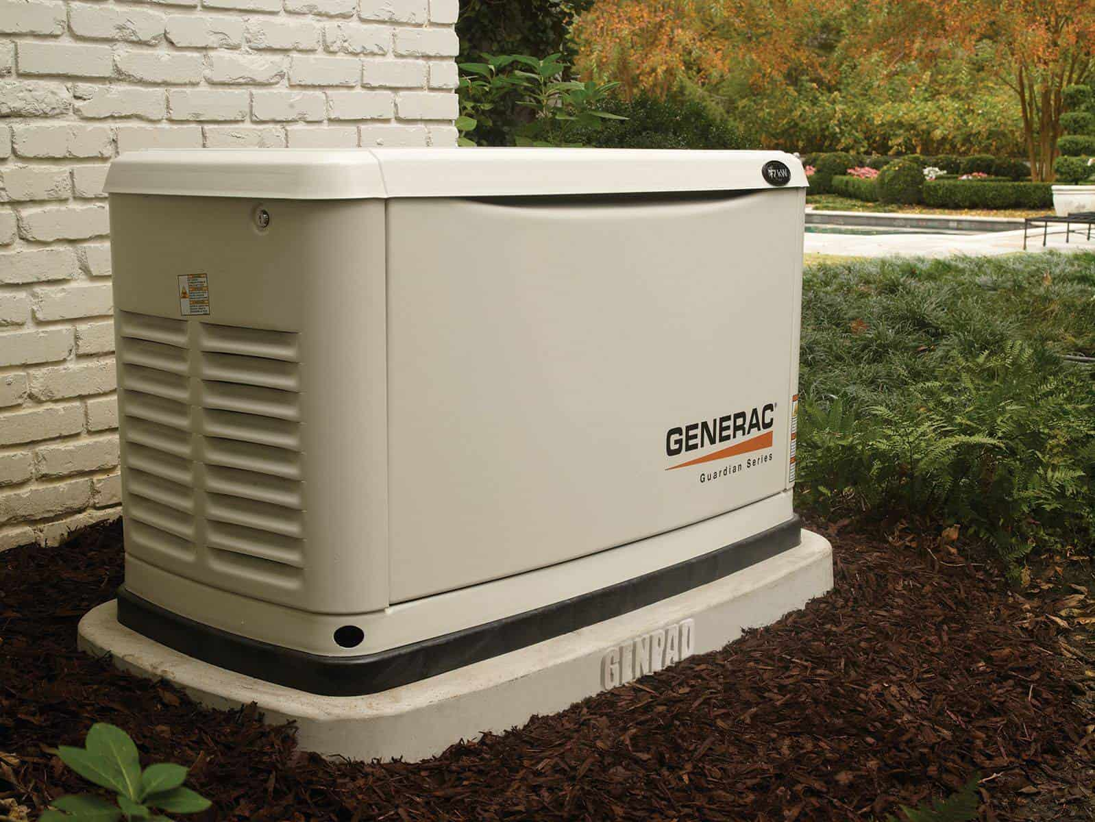 Generac Generator on GenPad