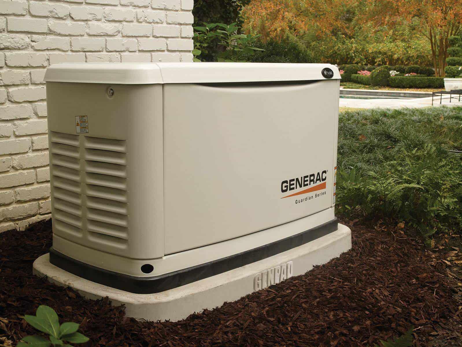 Generac Generator on GenPad