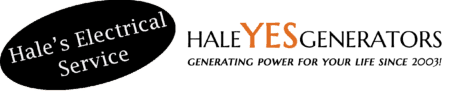 Hale's Electrical Service Logo