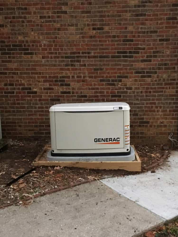Generac Generator City of Colonial Heights