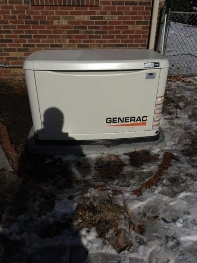 Generac Generator City of Colonial Heights