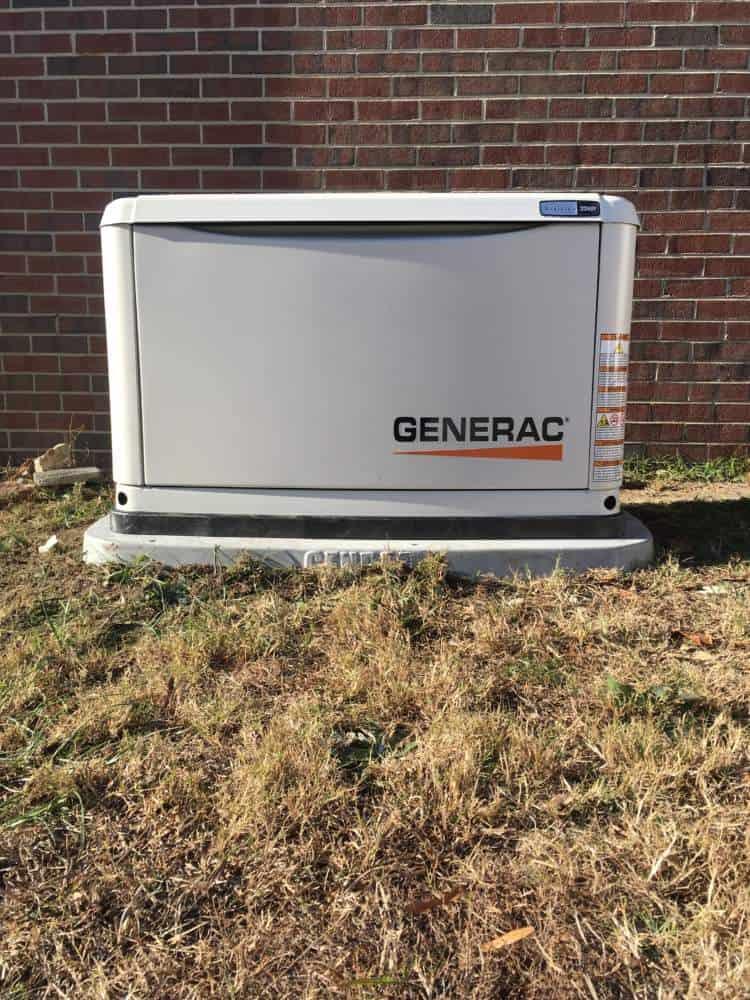 Generac Generator Dinwiddie County