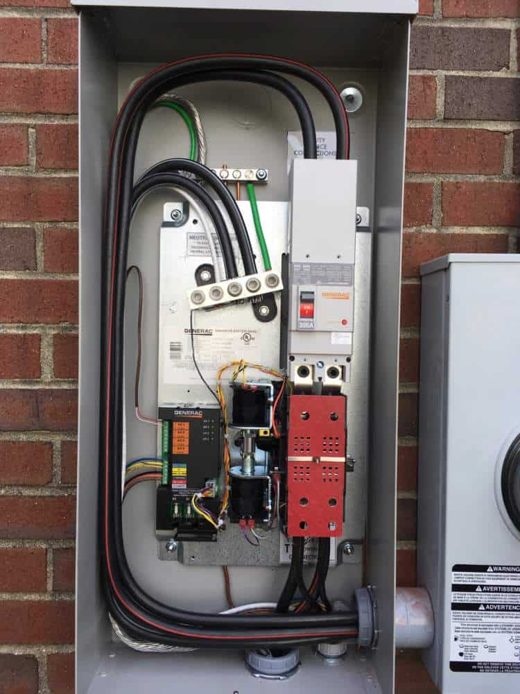 Open Transfer Switch Dinwiddie County