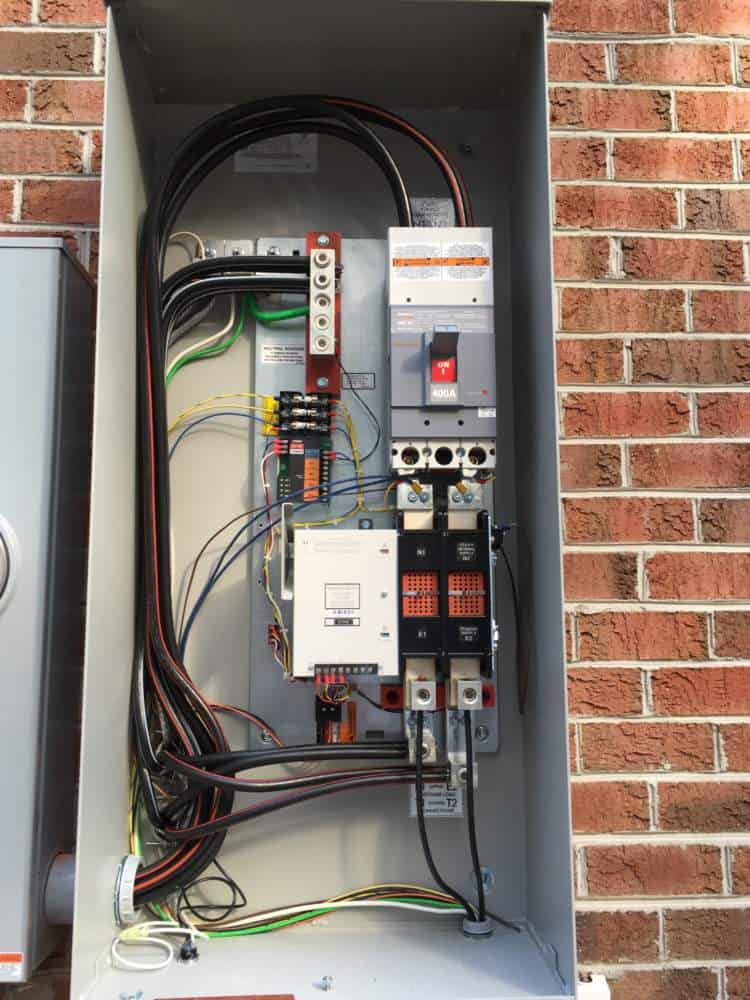 Open Transfer Switch Prince George County