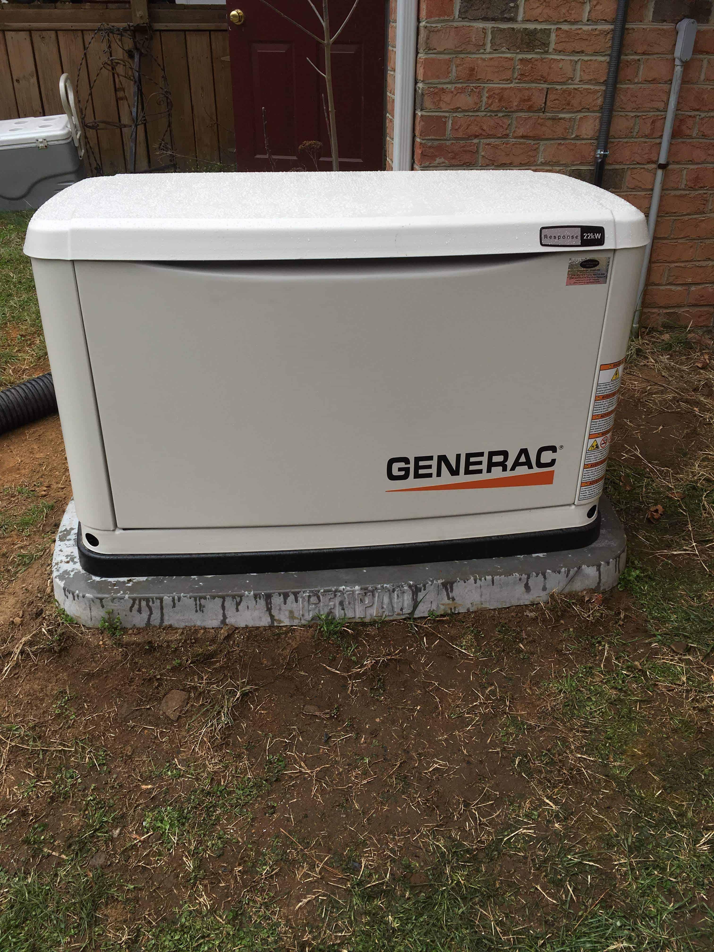 Generac Generator Powhatan County
