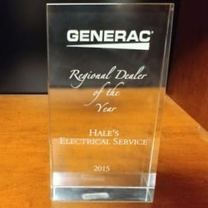 2015 Generac Southeast Regional Dealer of the Year