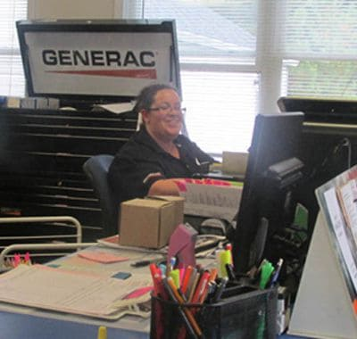 Customer Service Specialist at Desk