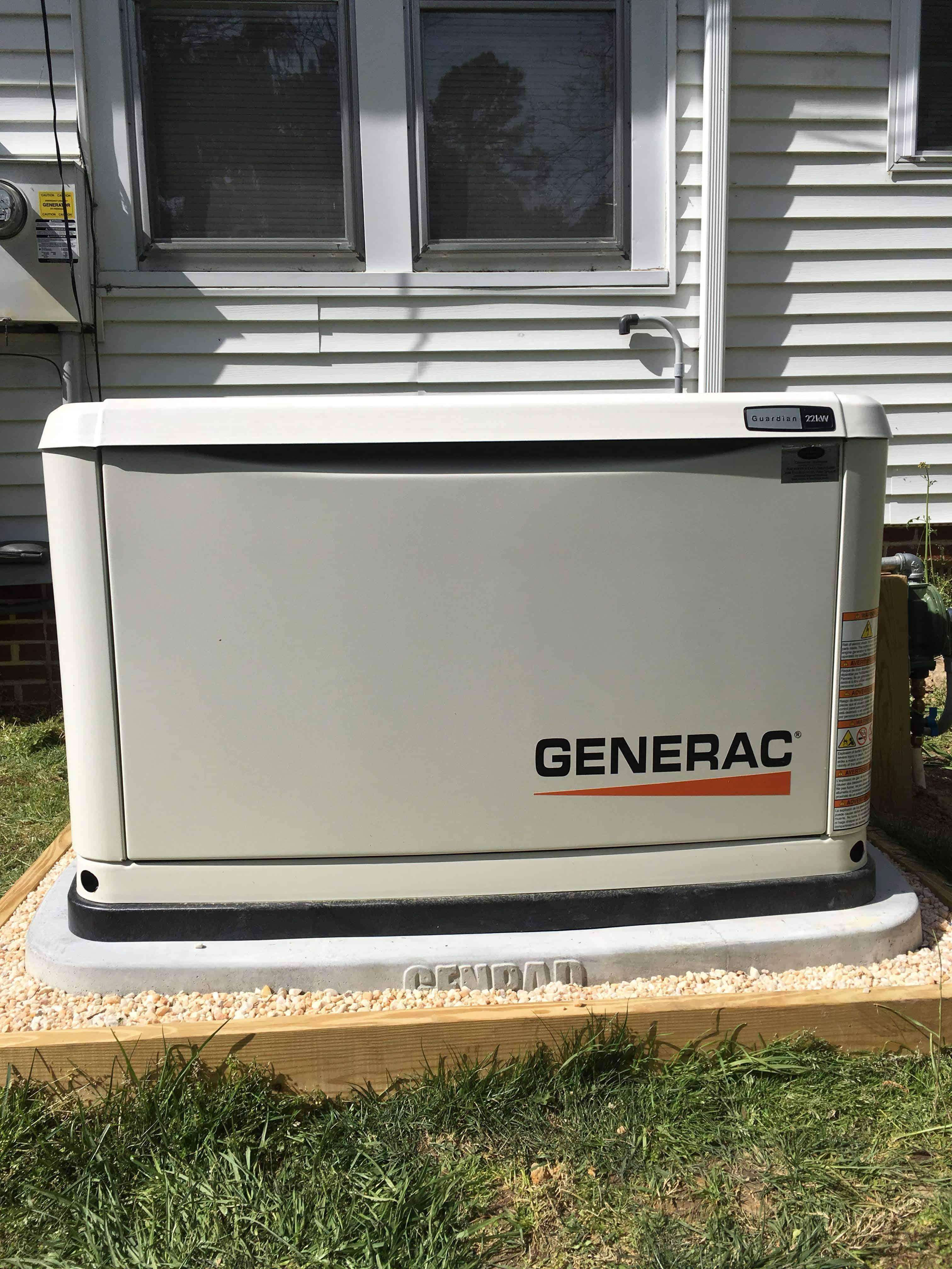Generac Generator Southampton County