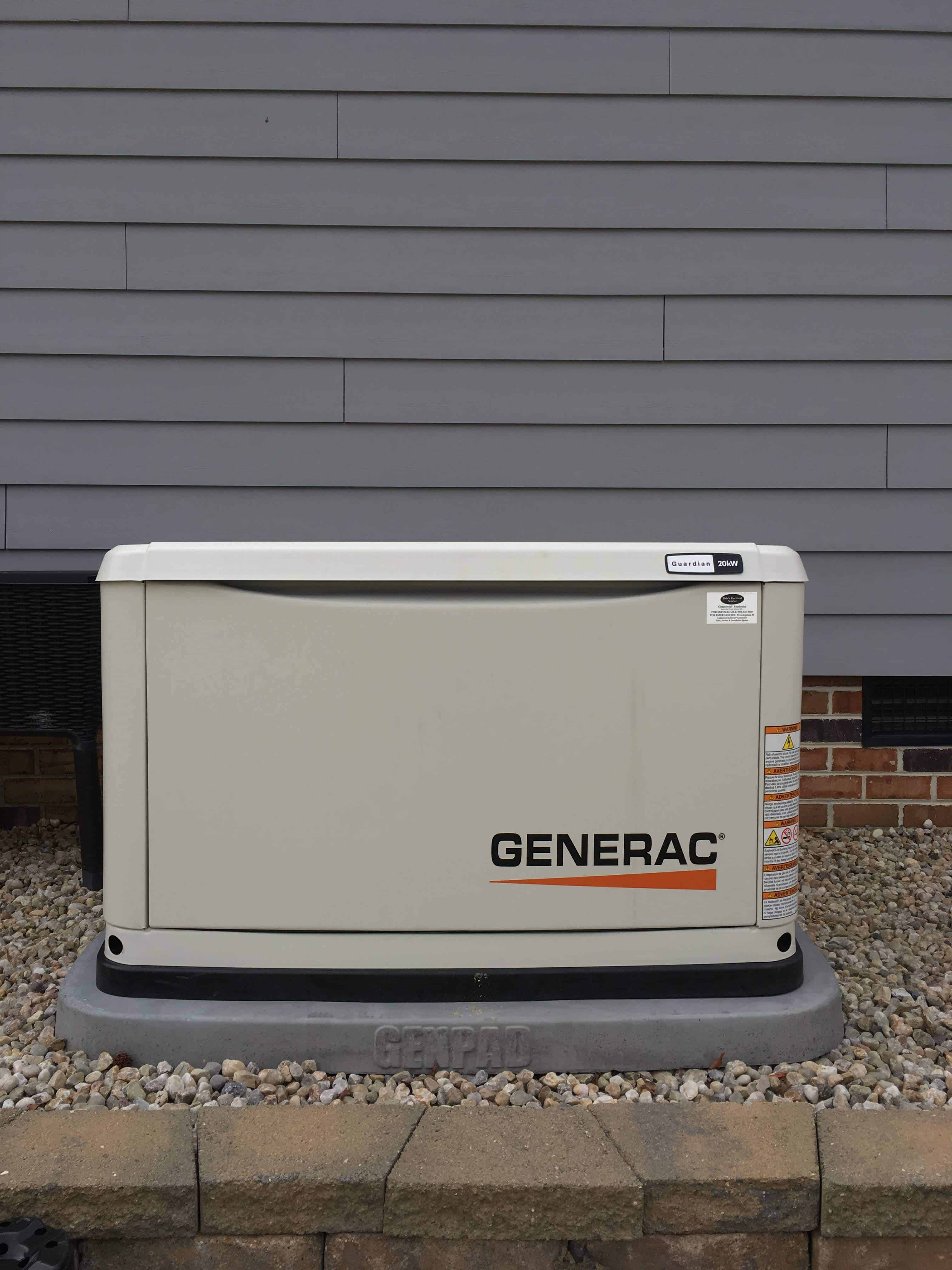 Generac Generator Chesterfield County