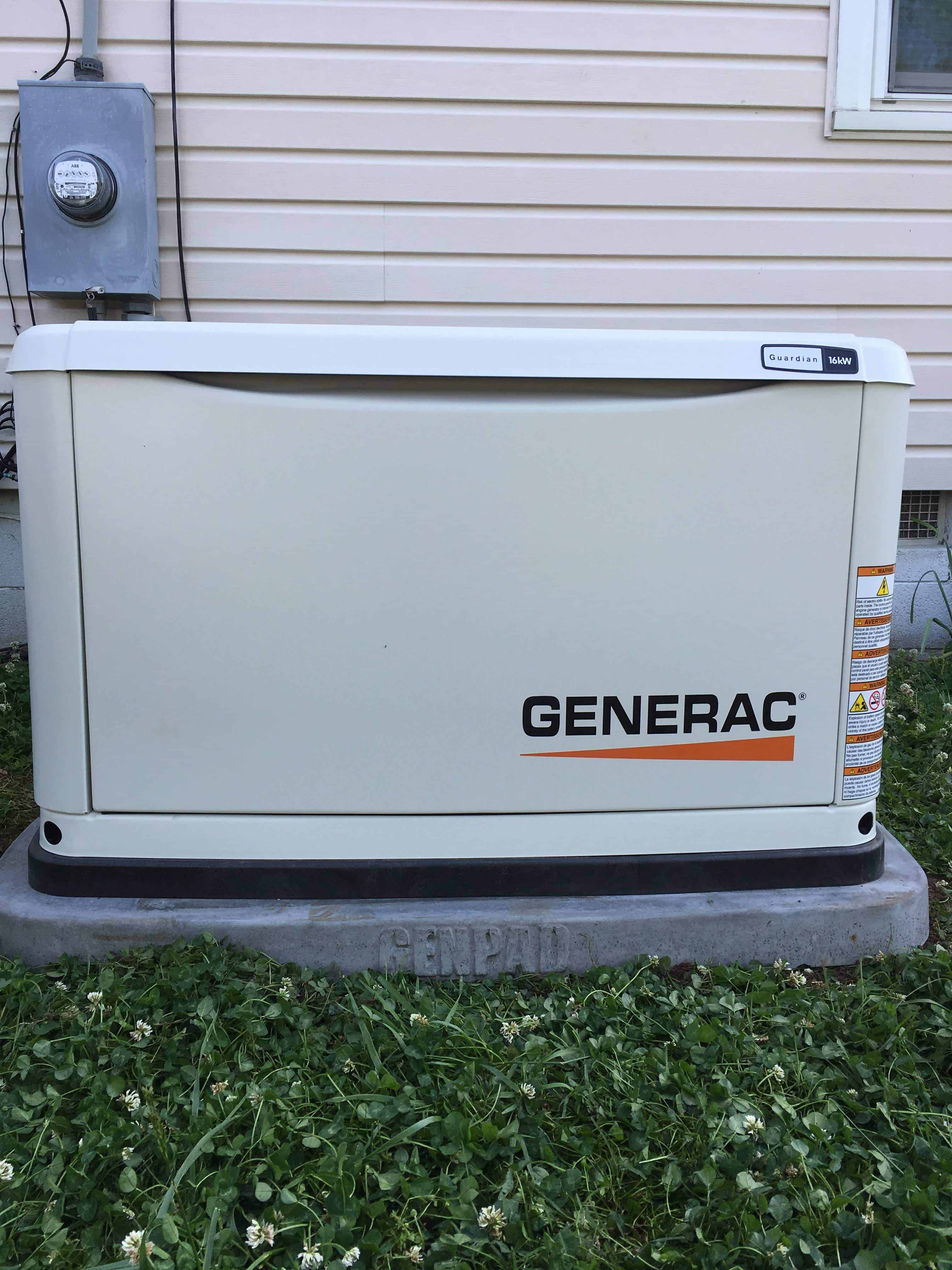 Automatic Standby Generac Generator City of Hopewell