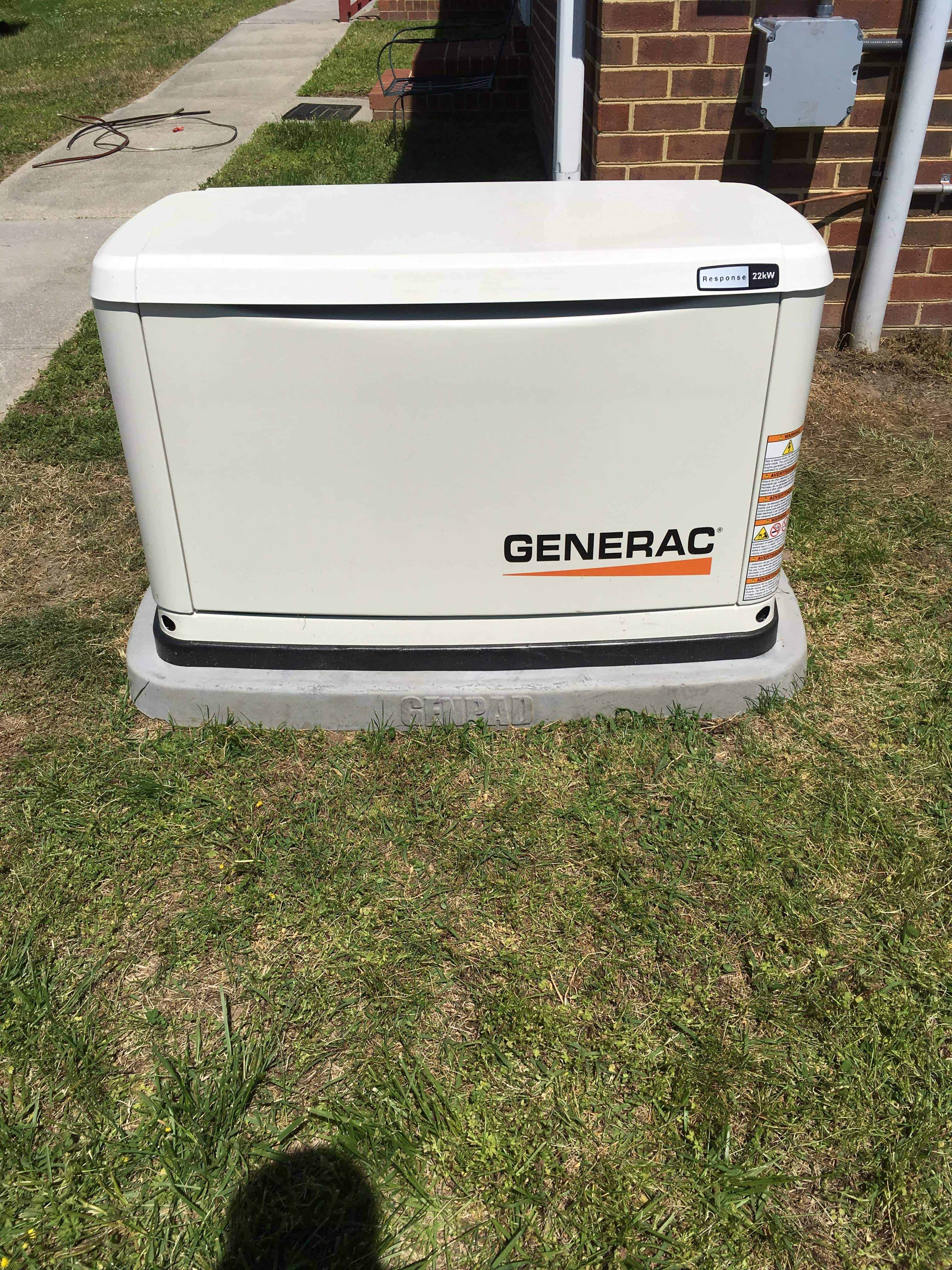 Automatic Standby Generac Generator Prince George County