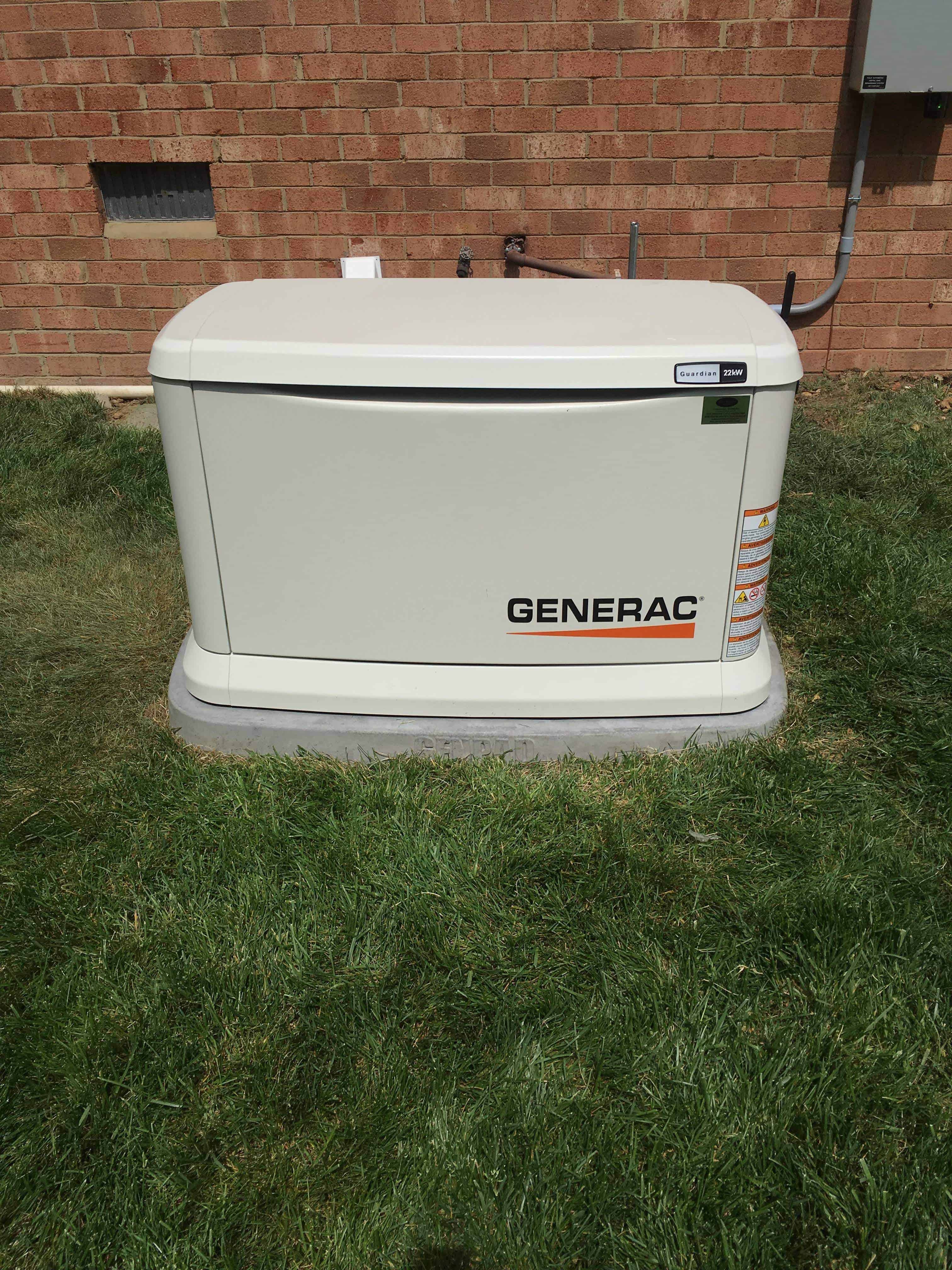 Automatic Standby Generac Generator Chesterfield County