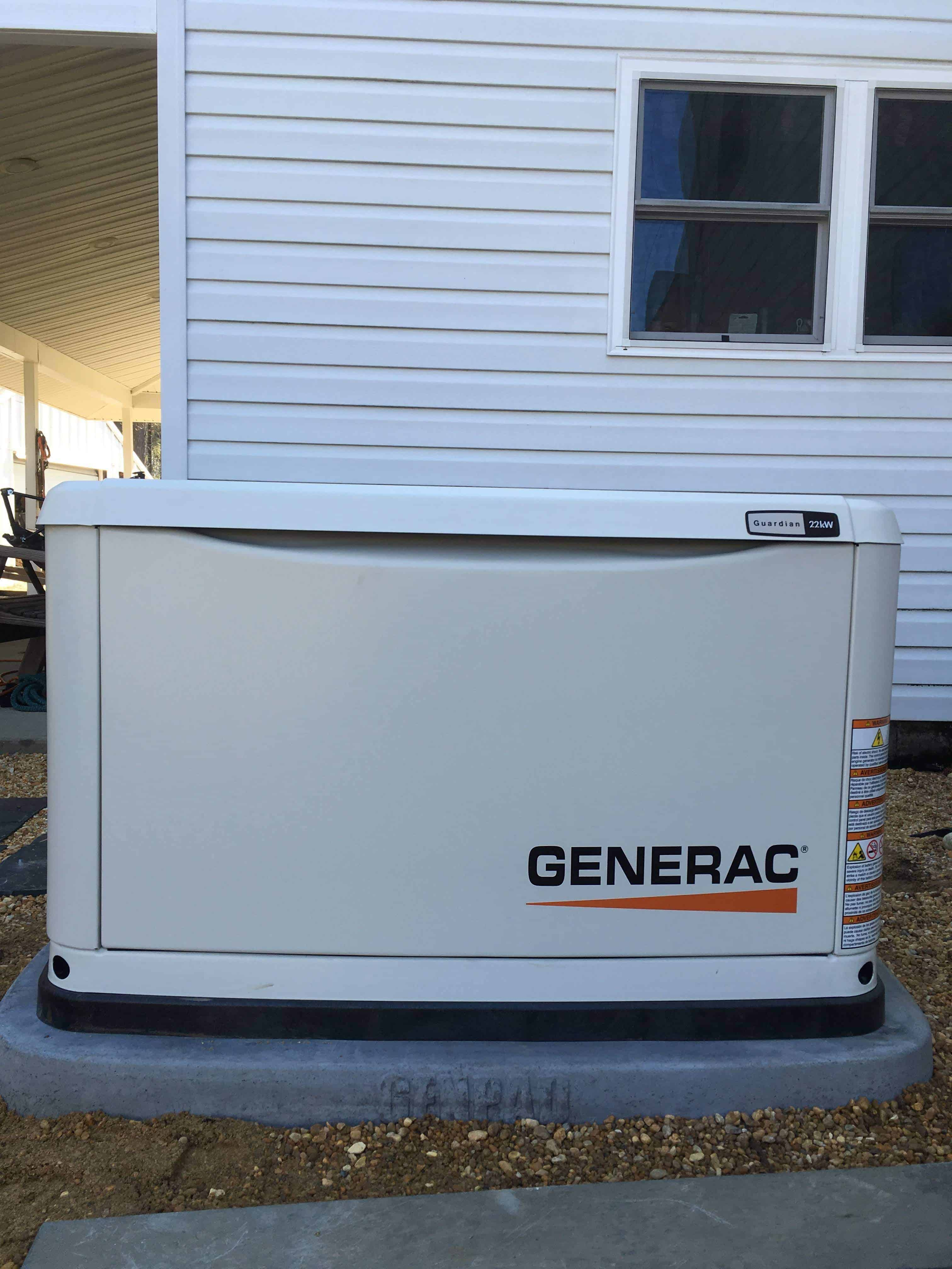 Generac Automatic Standby Generator Charles City County