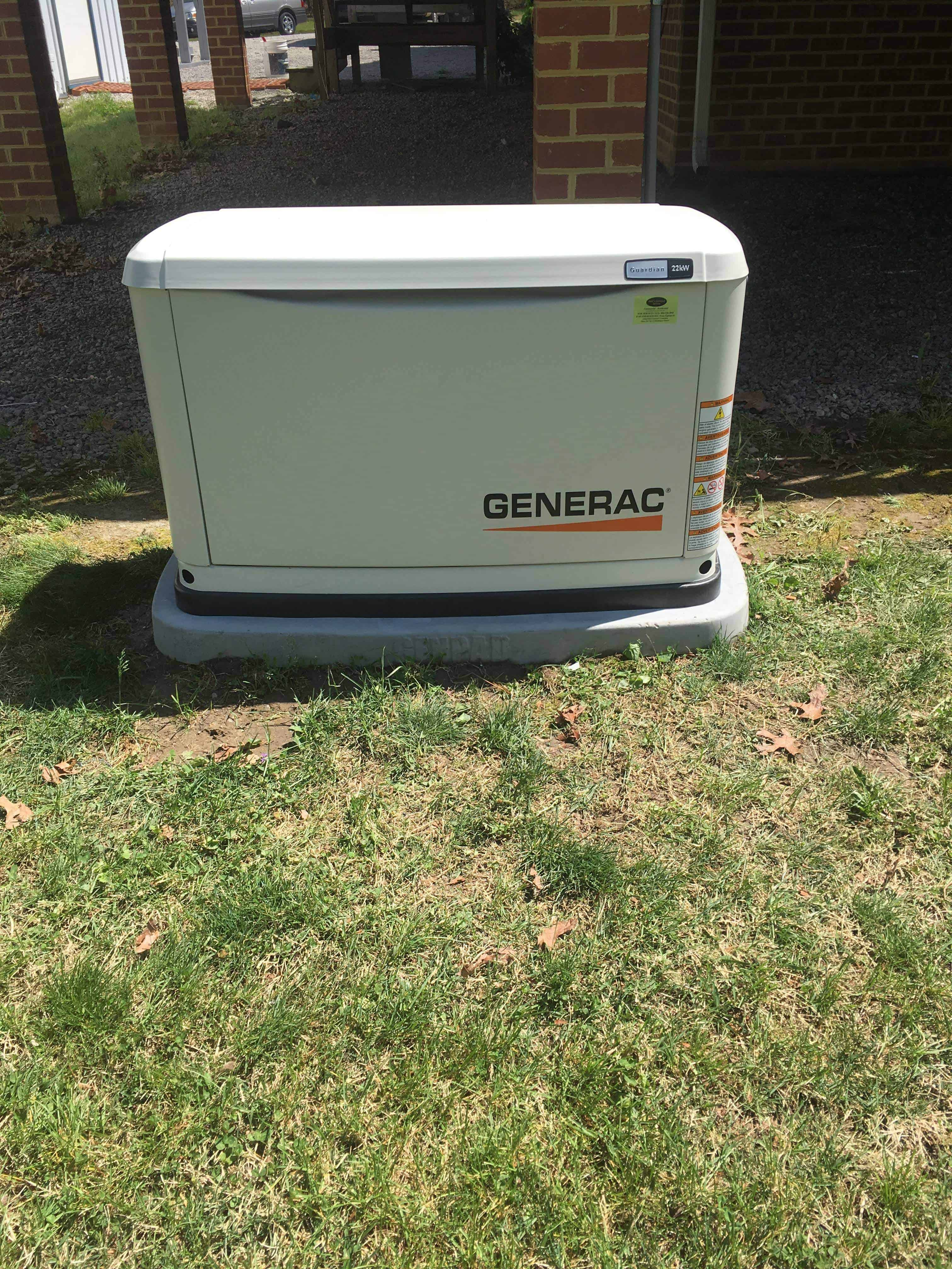 Generact Automatic Standby Generator Dinwiddie County