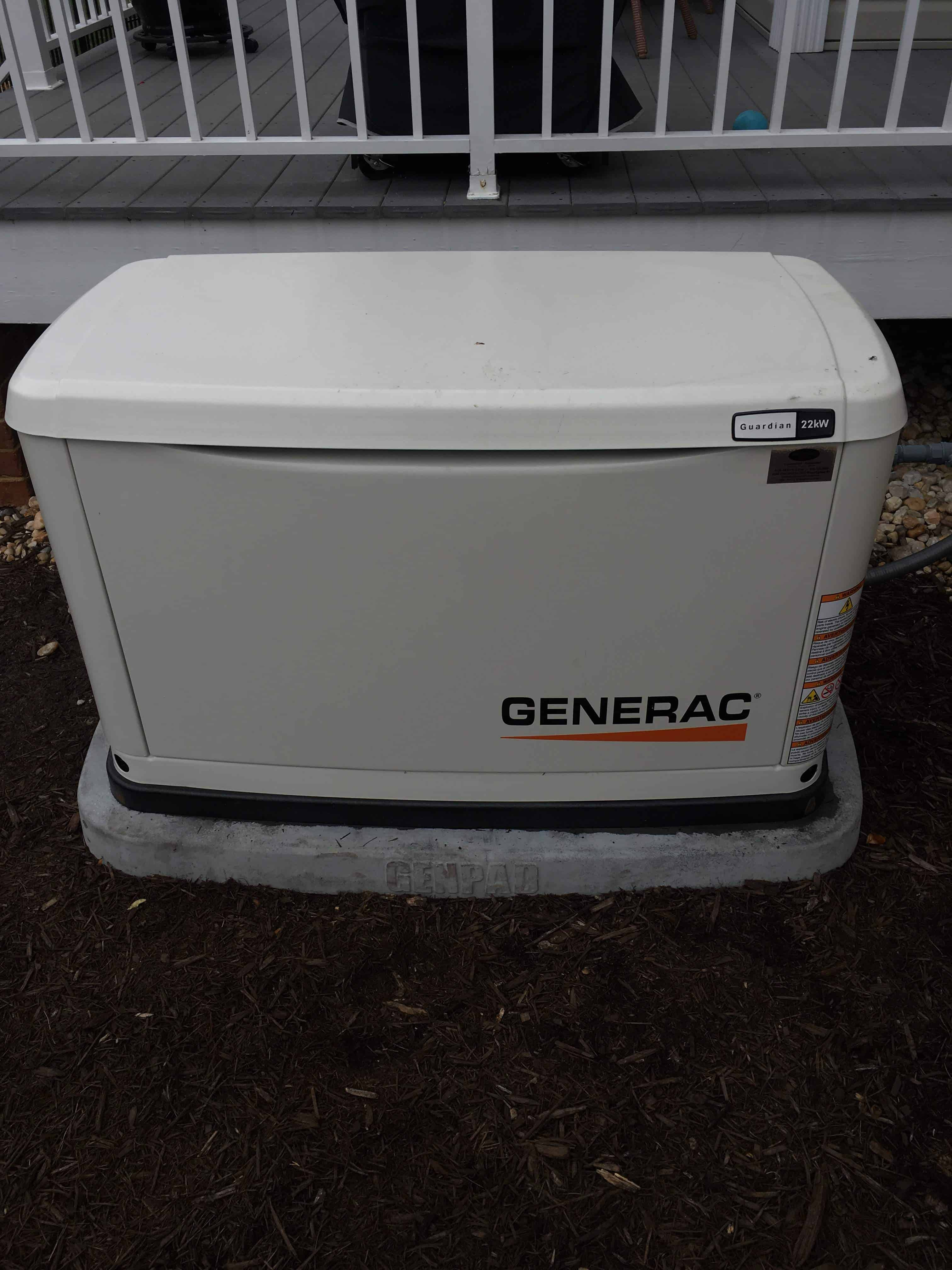 Generac Automatic Standby Generator City of Hopewell