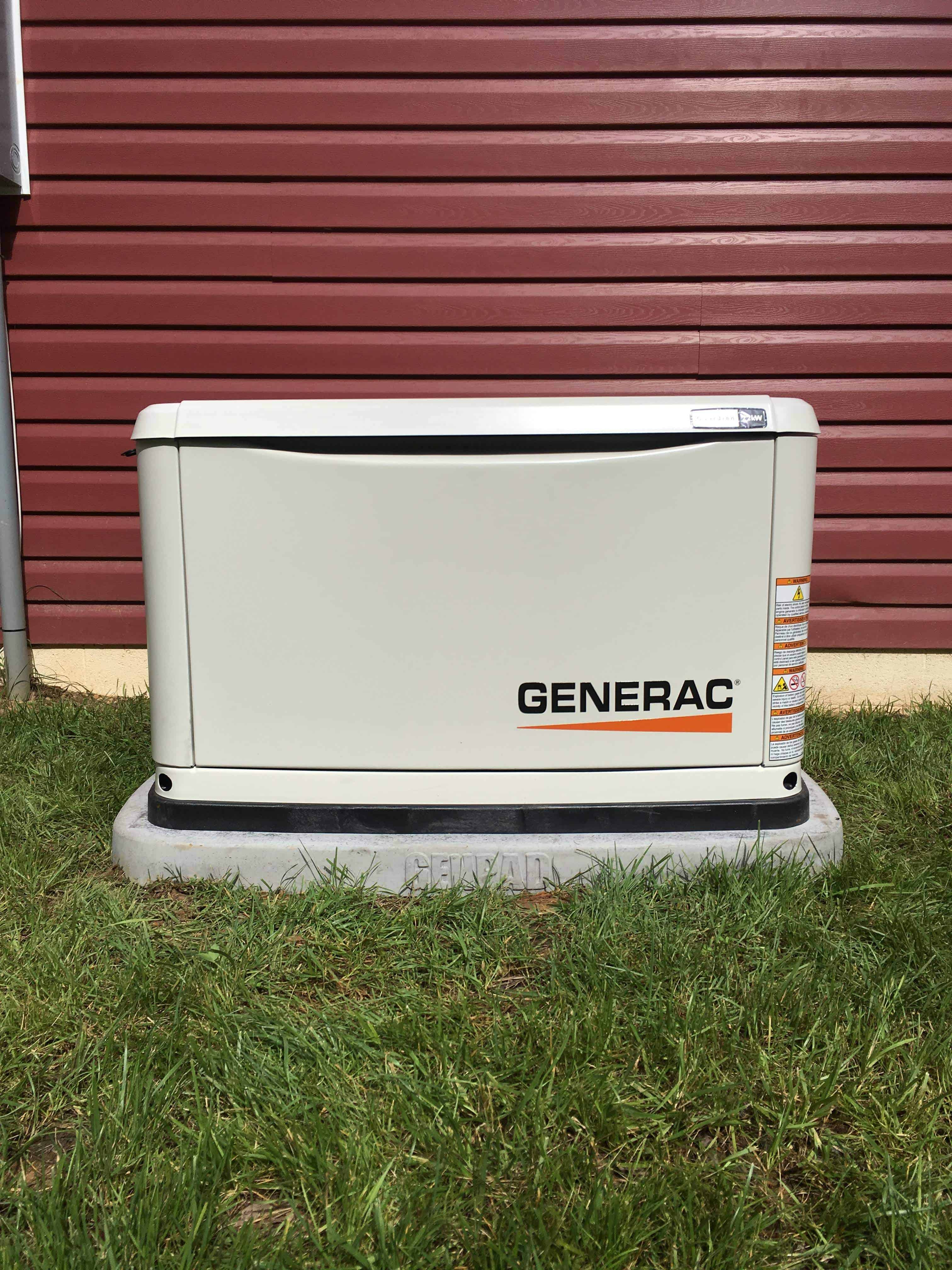 Generac Automatic Standby Generator Louisa County