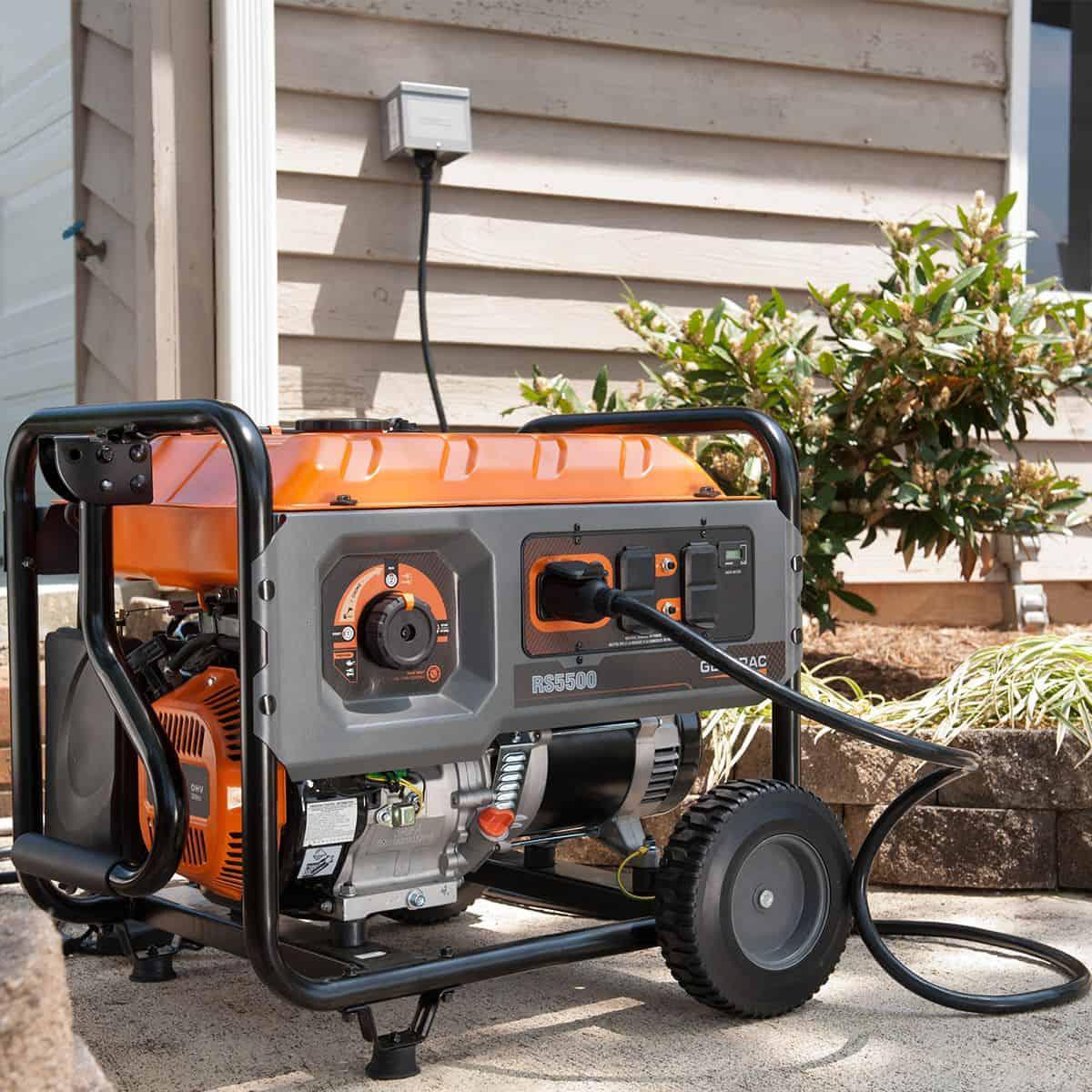 RS Series Watt Rapid Start Portable Generator