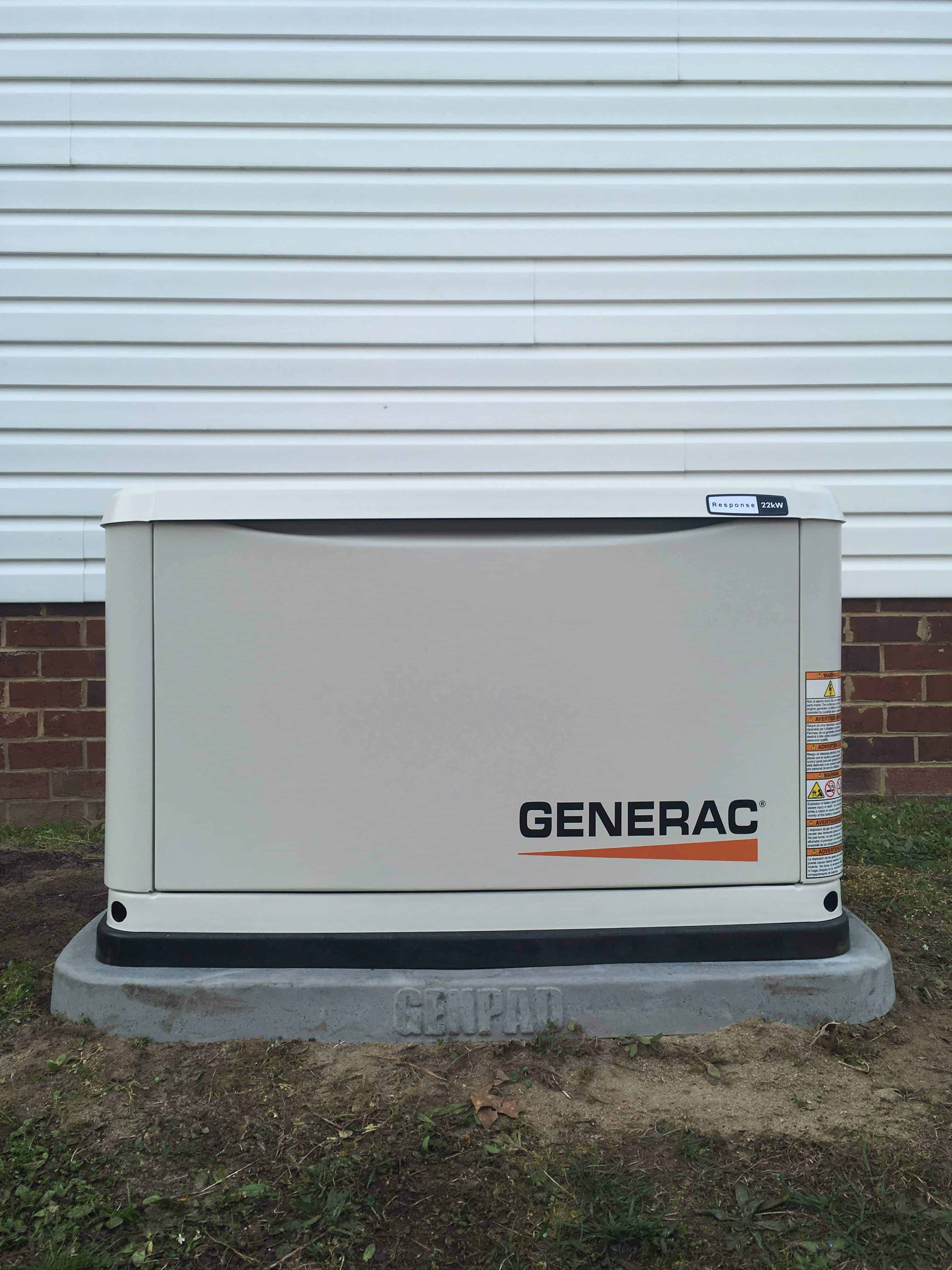 Generac Automatic Standby Generator Prince George County
