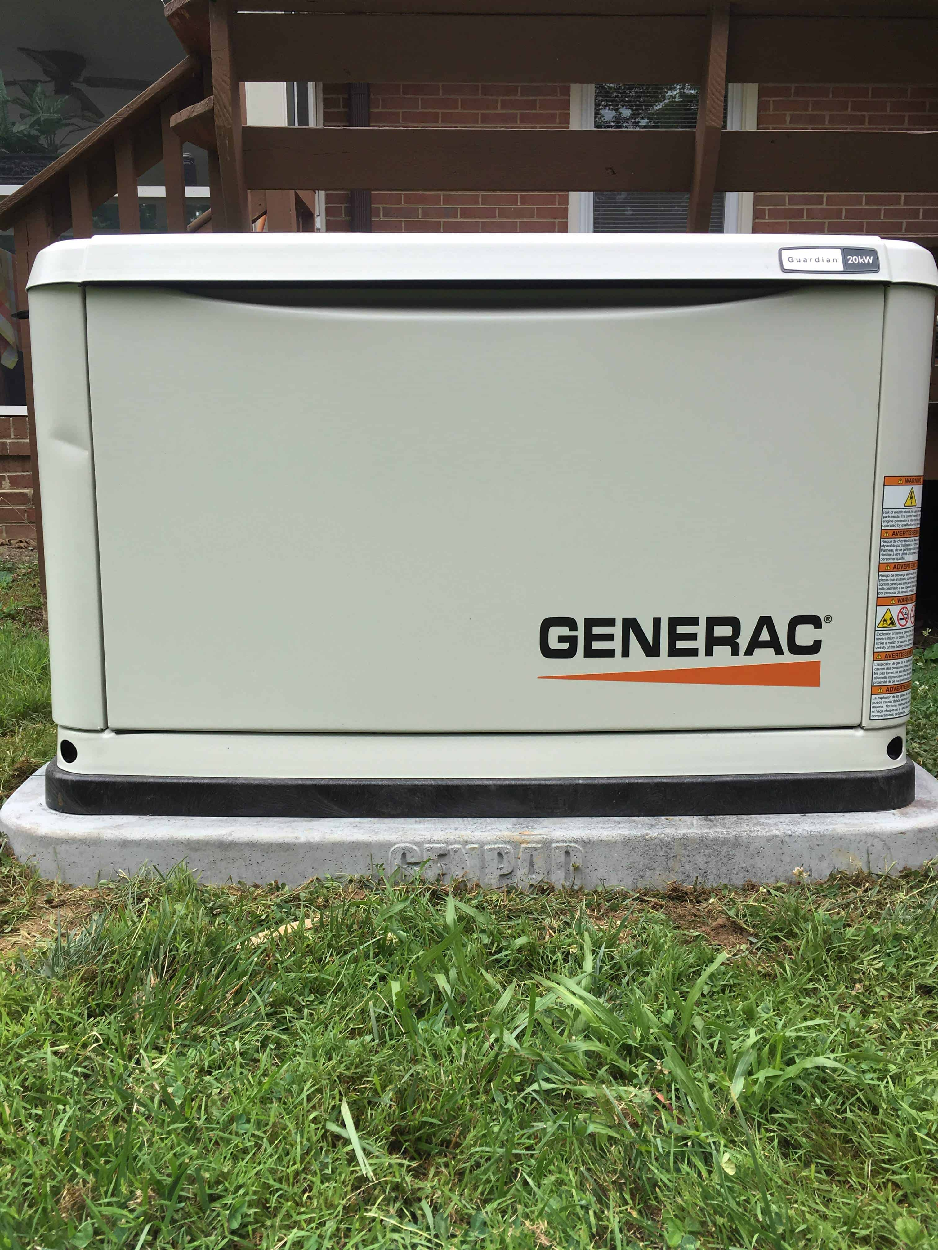 Generac Automatic Standby Generator Chesterfield County