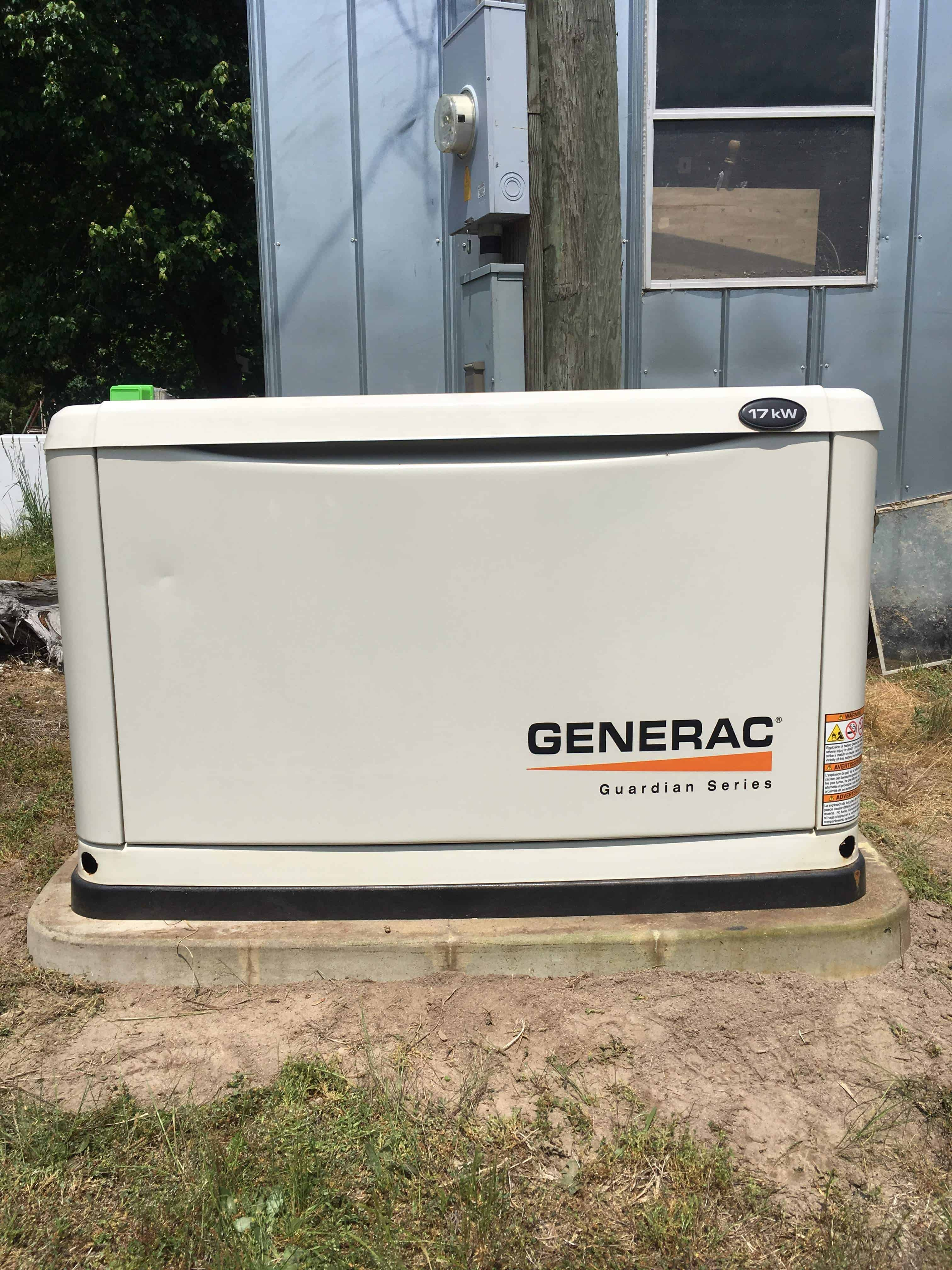 Generac Automatic Standby Generator Dinwiddie County