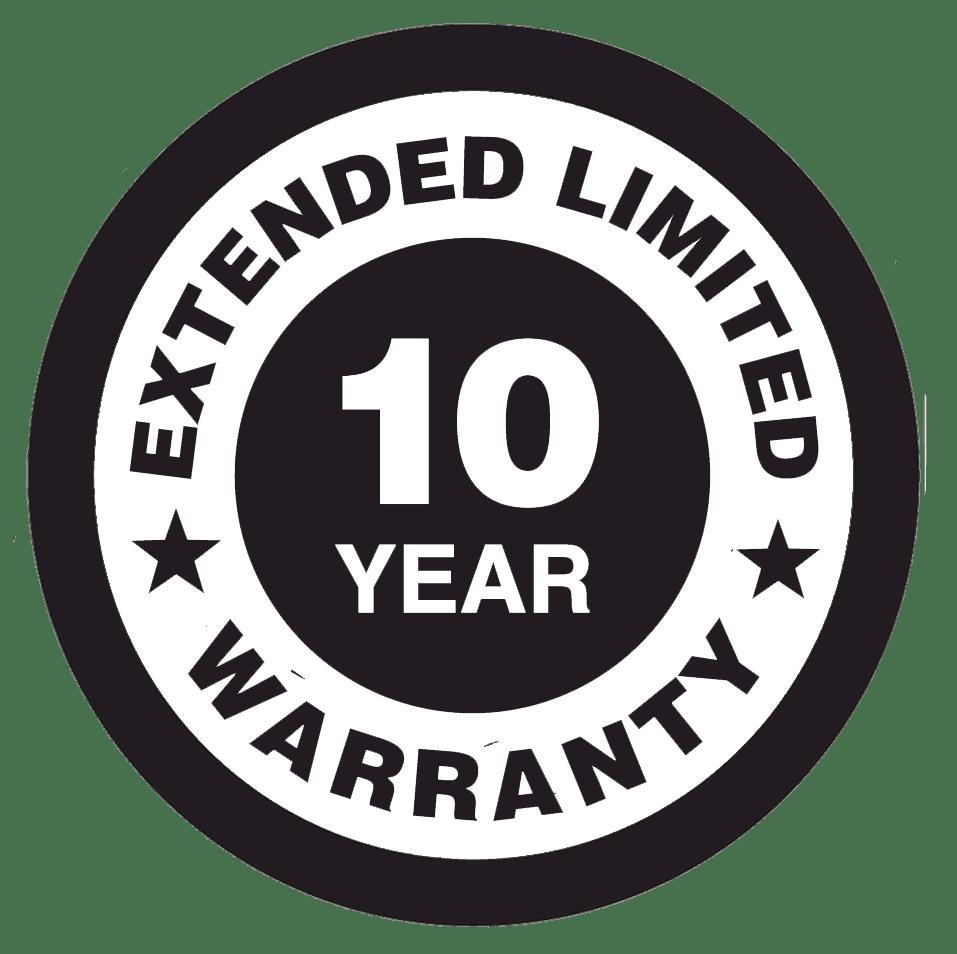 Generac 10 Year Extended Warranty white