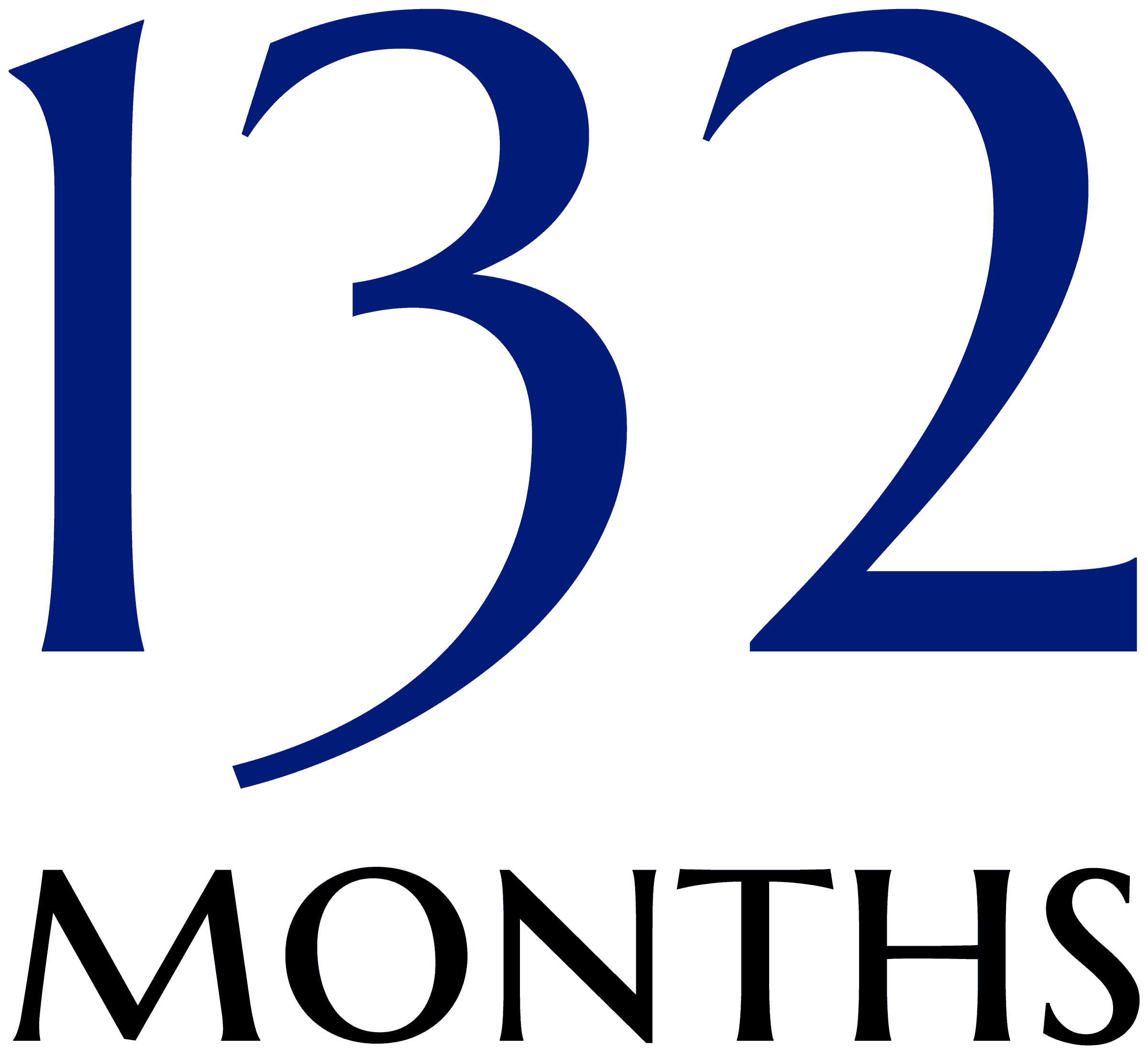 132 months
