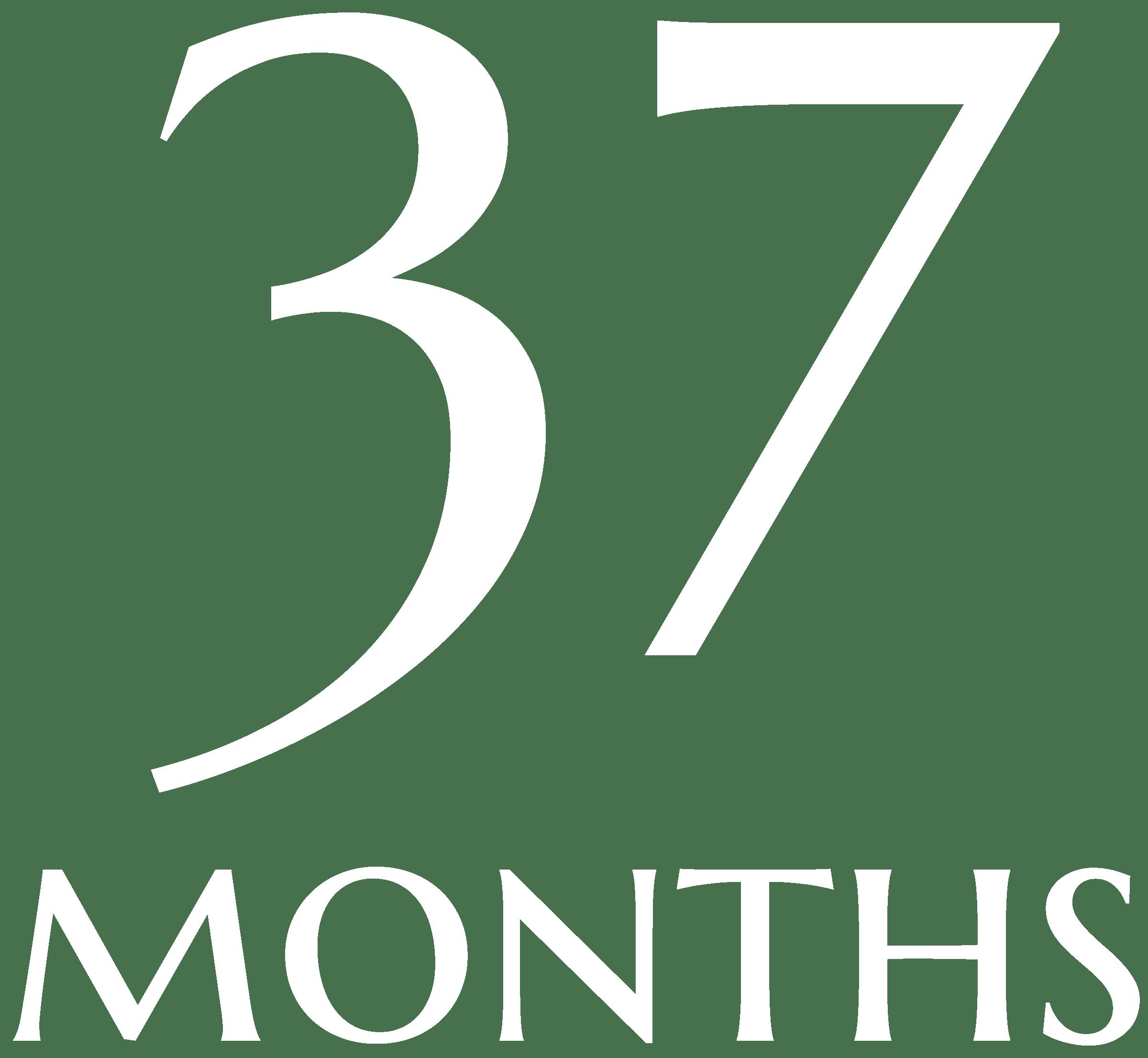 37 months