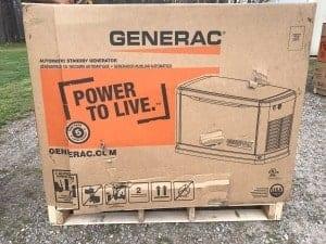 Damaged Generator