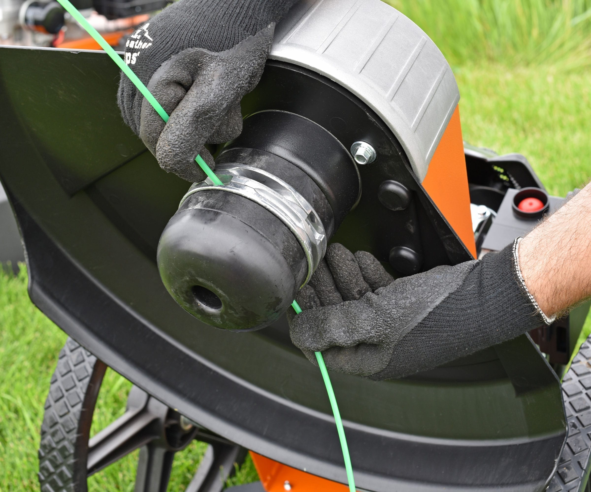 Generac PRO Trimmer Mower Bottom