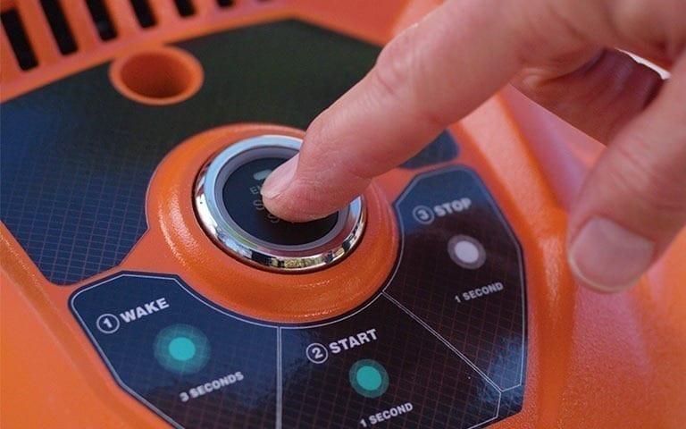 Generac Pressure Washer Electric Start Button