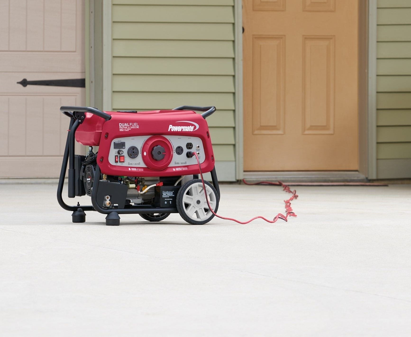 Powermate Dual Fuel 3500 Portable Generator