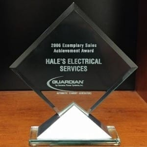 2006 Exemplary Sales Achievement Award