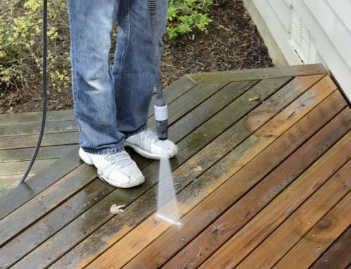 Power Washer Spring Cleaning