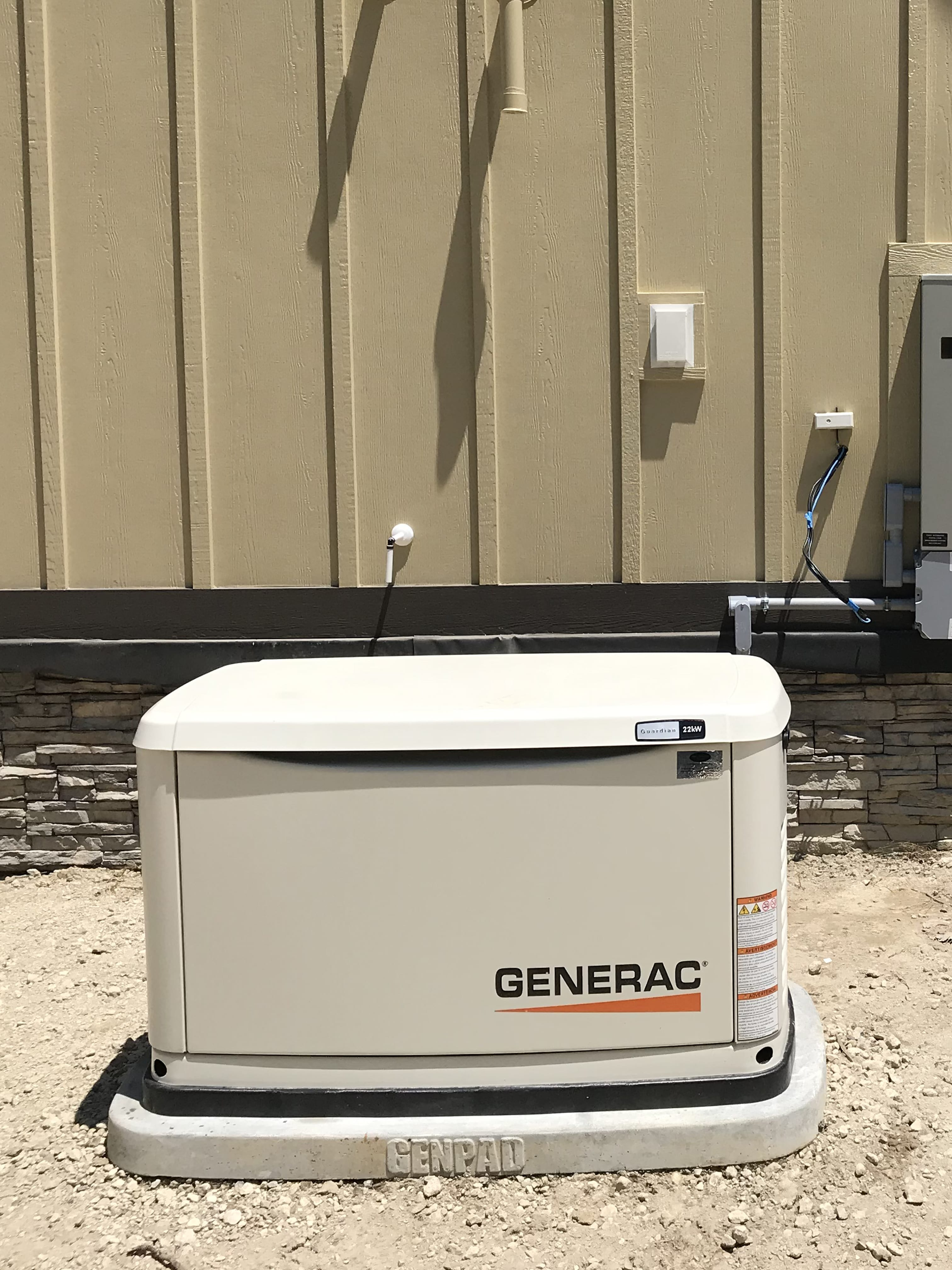 7.3.19 Prince George Generac Automatic Standby Generator
