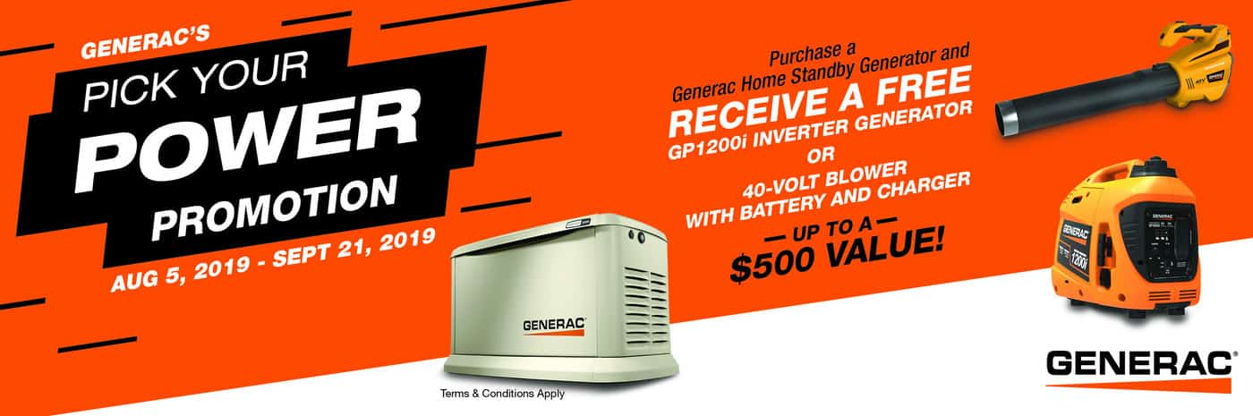 Central Virginia's Generac Premier Dealer | Hale's