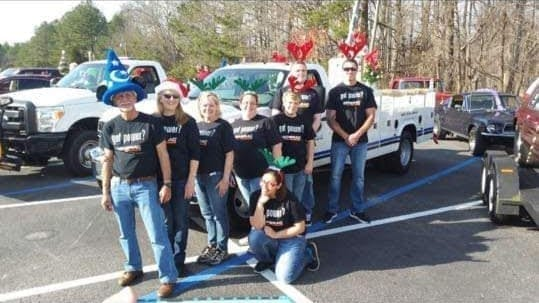 2015 Dinwiddie Christmas Parade