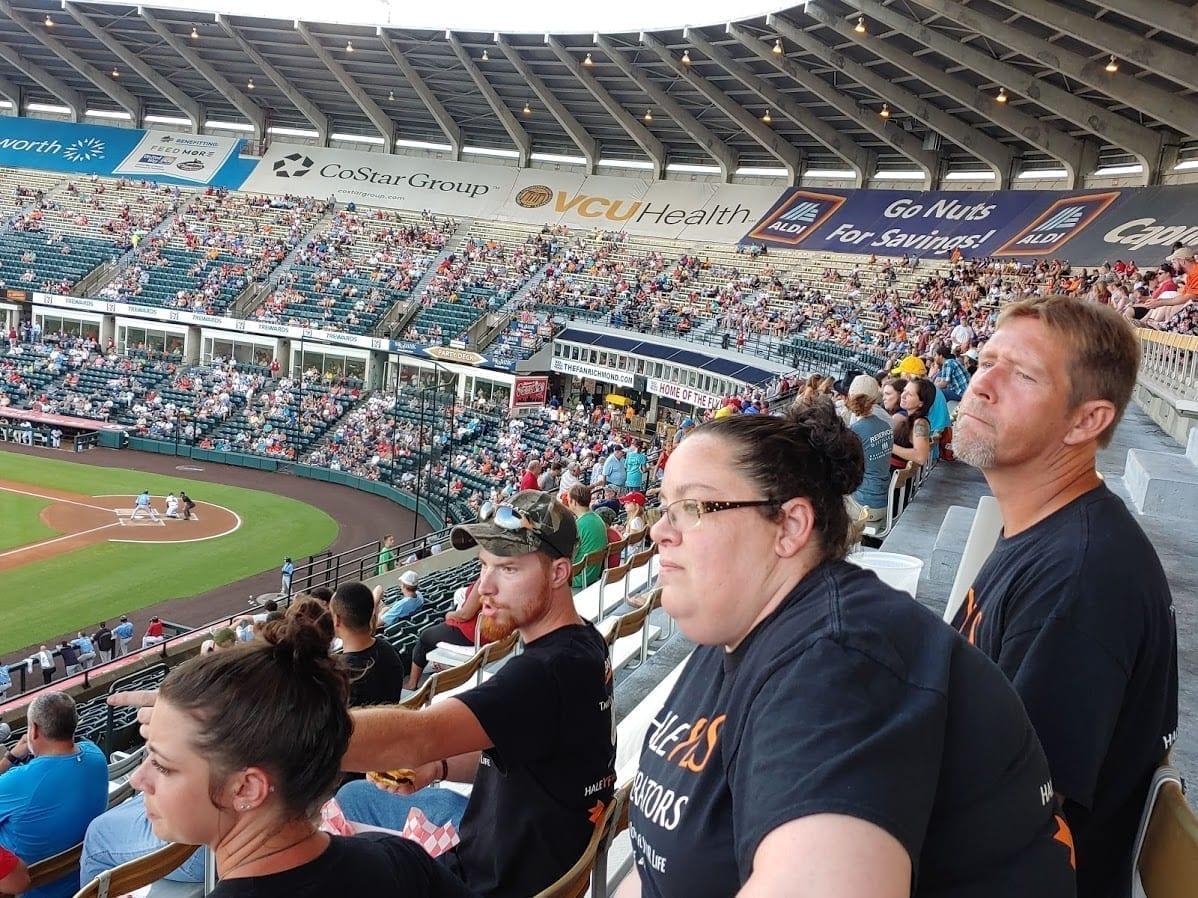 2019 August Squirrels Baseball Night