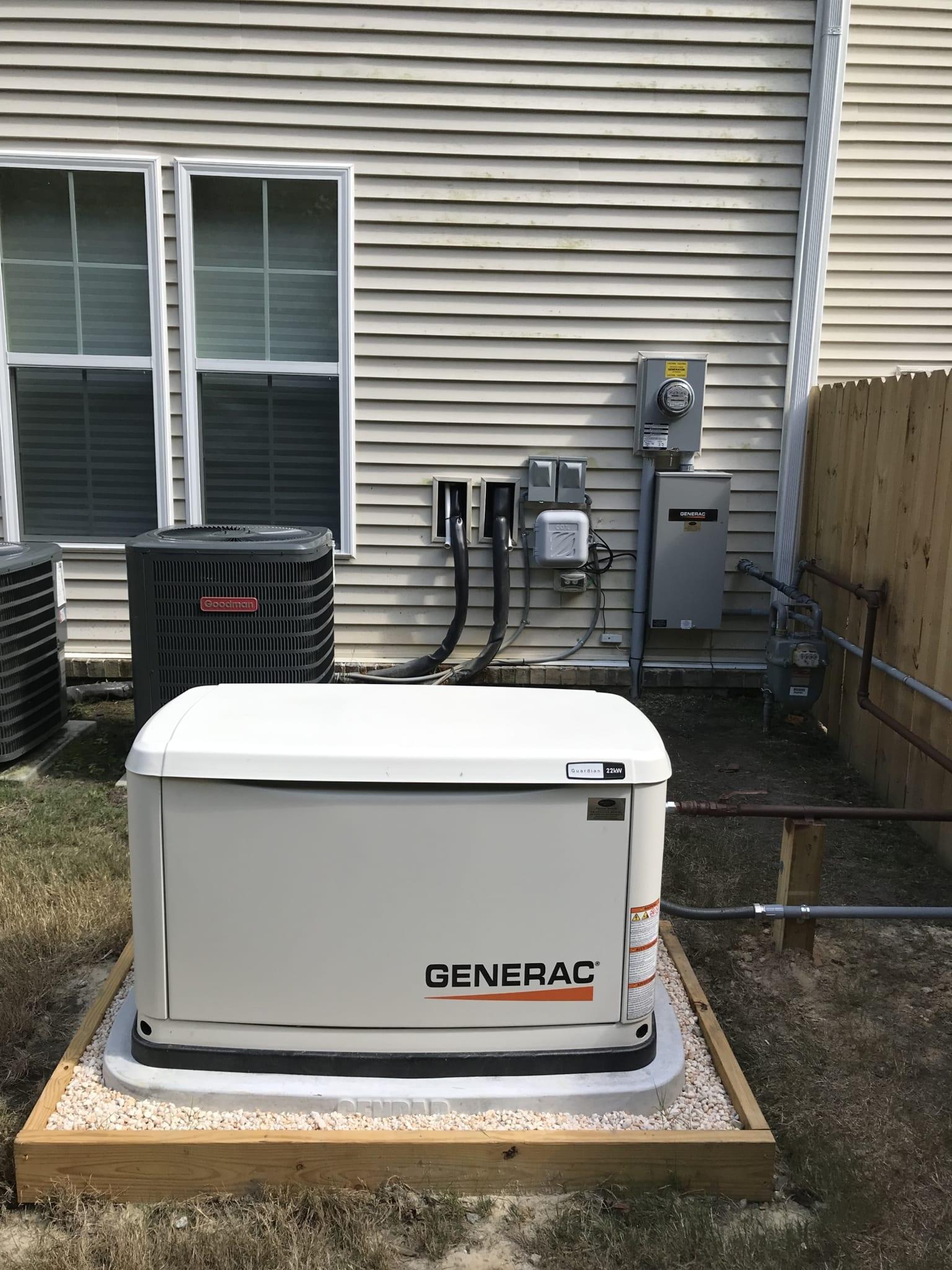 9.19.19 James City Generac Automtic Standby Generator