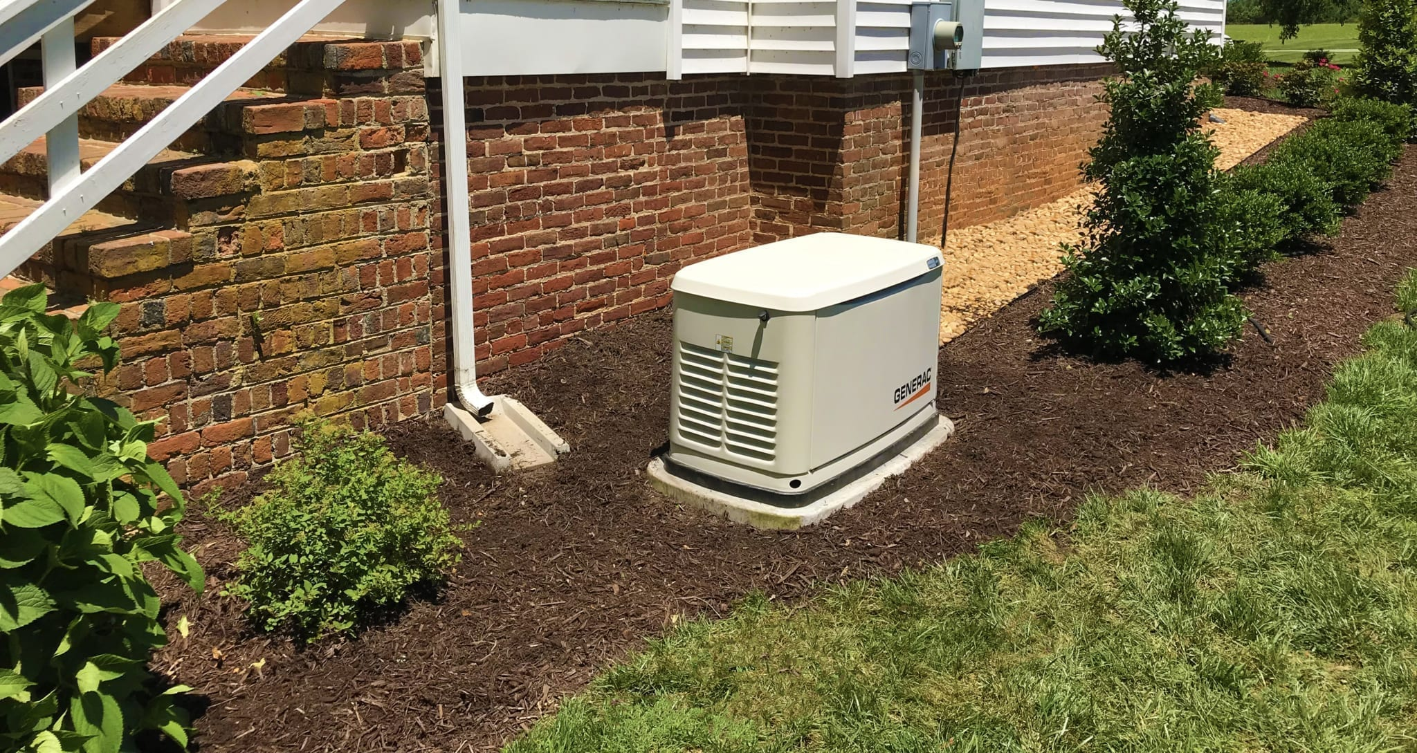 Generac Automatic Standby Generator Installed by Hales Electrical Service