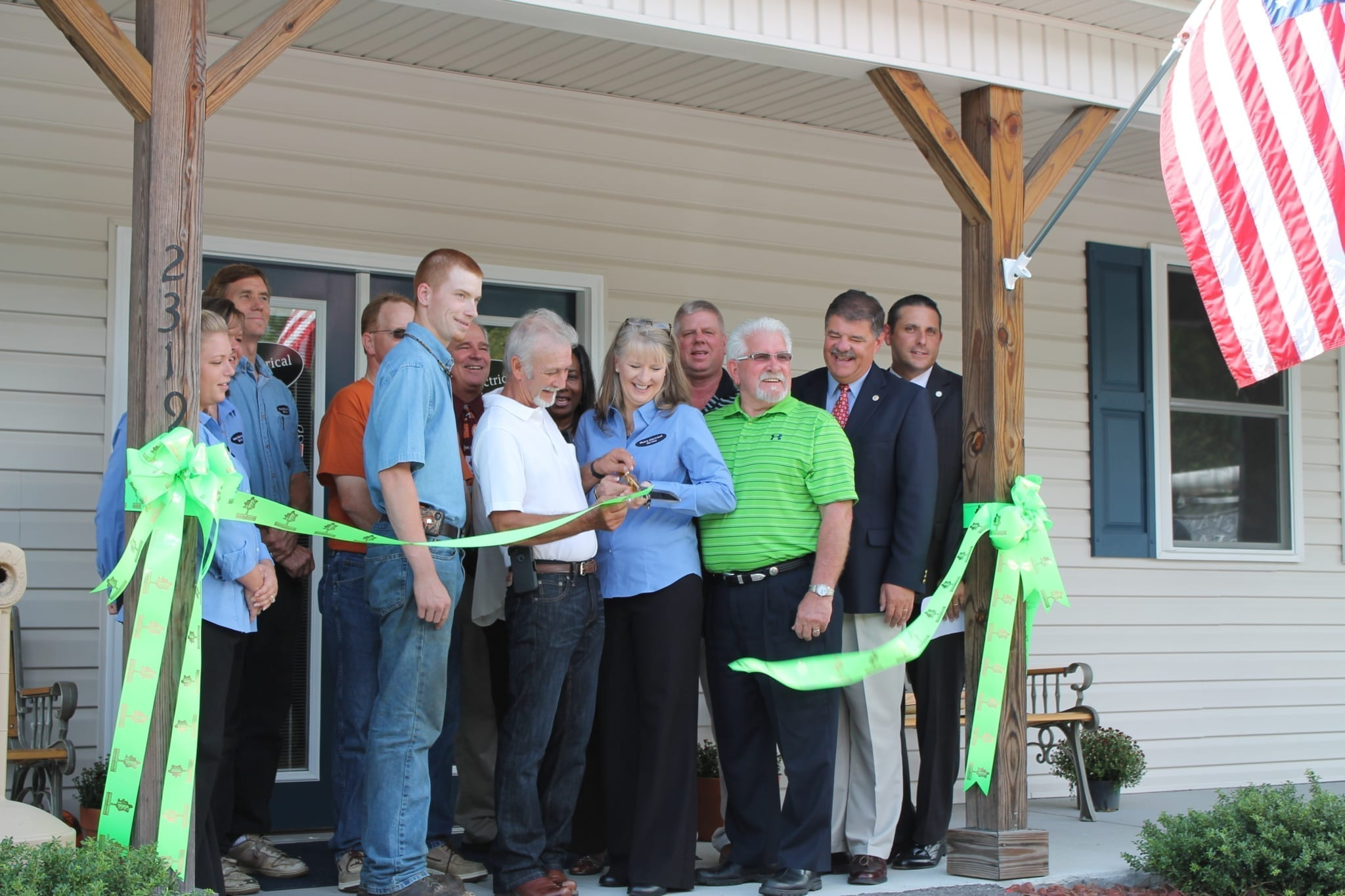 Hale's Electrical Ribbon Cutting