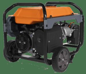 Generac GP 3600 Portable Generator BACK