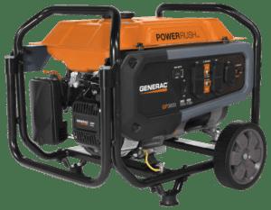 Generac GP 3600 Portable Generator FRONT