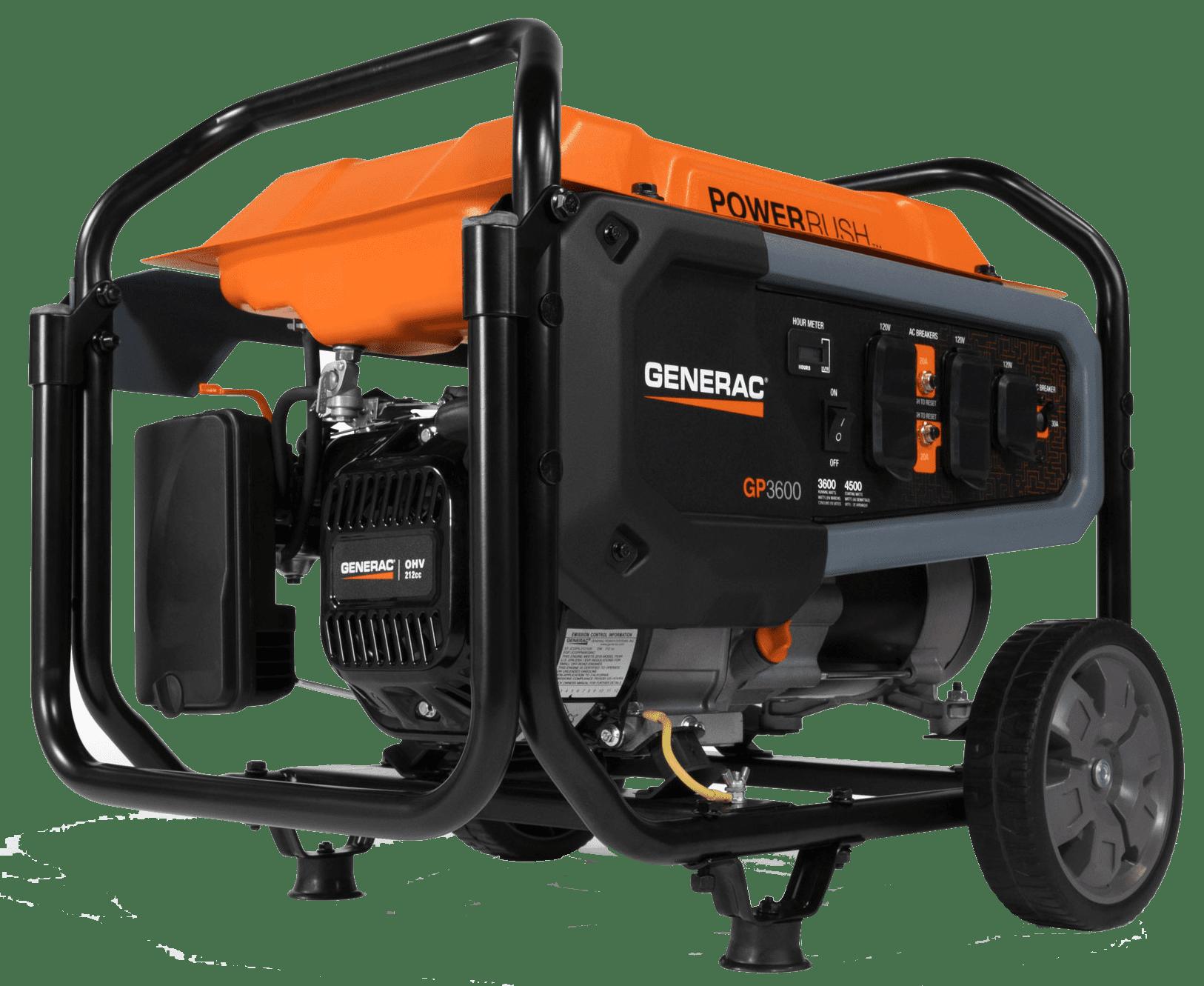 Generac GP 3600 Portable Generator